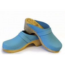 Soft nubuk children clogs